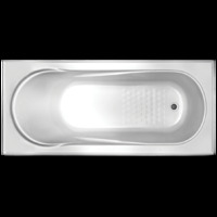 1530 x 750 x 450 mm ALLURA BATHROOM ACRYLIC DROP IN INSERT BATH TUB RECTANGLE