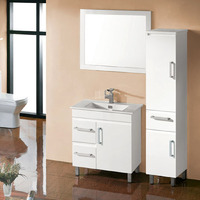 BELLA 750mm Left Drawers PVC Water Proof Bathroom Vanity Cabinet
