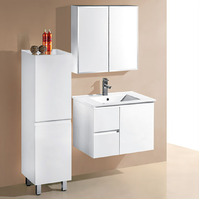 IVANA 750mm Left Drawers PVC Water Proof Wall Hung Bathroom Vanity Cabinet