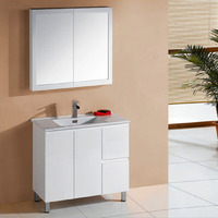IVANA 900mm Right Drawers PVC Water Proof Bathroom Vanity Cabinet