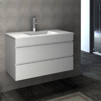 VELLENA 900mm PVC Water Proof Wall Hung Bathroom Vanity Cabinet